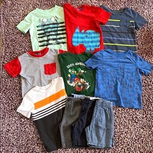 Other - 7 Tees & 3 Pair of Shorts